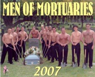 Men of Mortuaries calendar