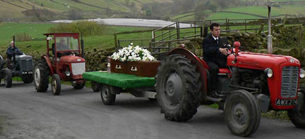 Jimmy Haythornthwaite and his tractors