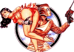 rocketeer and Jenny